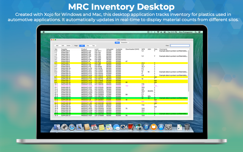 MRC Desktop Inventory